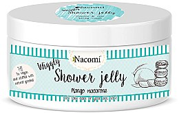 "Parfumuri și produse cosmetice Gel de duș ""Macarons cu mango"" - Nacomi Shower Jelly Mango Macarons"