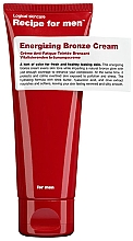 Parfumuri și produse cosmetice Cremă bronzantă - Recipe For Men Energizing Bronze Cream