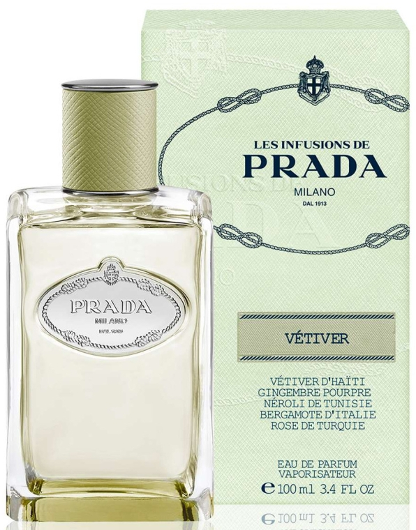 Prada Les Infusions de Vetiver 2015 - Apă parfumată (Tester fără capac)