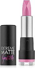 Parfumuri și produse cosmetice Ruj mat de buze - Flormar Extreme Matte Lipstick