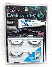 Parfumuri și produse cosmetice Set gene false - Ardell Deluxe Pack 109 Black