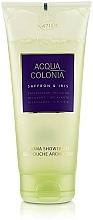 Parfumuri și produse cosmetice Maurer & Wirtz 4711 Acqua Colonia Saffron & Iris - Gel de duș
