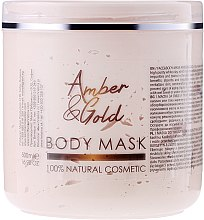 """Parfumuri și produse cosmetice Mască de față și corp """"Chihlimbar și aur"""" - Hristina Cosmetics Sezmar Professional Body Mask Amber & Gold"""