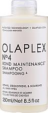Șampon regenerant pentru toate tipurile de păr - Olaplex Professional Bond Maintenance Shampoo №4 — Imagine N1