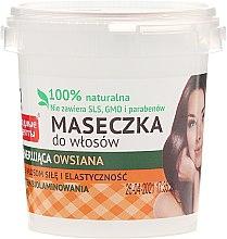 Parfumuri și produse cosmetice Mască regeneranră pentru păr, din ovăz - FitoKosmetik
