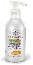 "Parfumuri și produse cosmetice Жидкое Марсельское мыло ""Апельсин"" - Ma Provence Liquid Marseille Soap Orange"