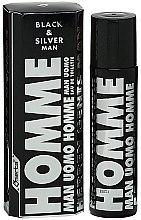Parfumuri și produse cosmetice Omerta Black & Solver Man - Apă de toaletă