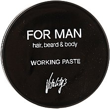 Parfumuri și produse cosmetice Pastă matifiantă pentru păr - Vitality's For Man Working Paste