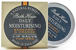 Parfumuri și produse cosmetice Balsam de buze pentru bărbați - Bath House Bergamot & Orange Lip Salve