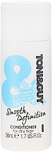 Parfumuri și produse cosmetice Balsam pentru păr uscat - Toni & Guy Nourish Smoothing Conditioner for Dry Hair