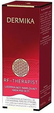 Cremă hidratantă pentru ochi - Dermika RF-Therapist Eye Cream 40+ — Imagine N1