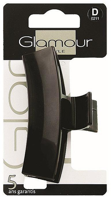 Agrafă de păr, 0211, neagră - Glamour — Imagine N1