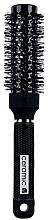 Parfumuri și produse cosmetice Perie Brushing, 498741, 35 mm - Inter-Vion Black Label Ceramic