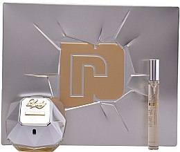 Parfumuri și produse cosmetice Paco Rabanne Lady Million Lucky - Set (edp/80ml + edp/10ml)