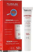 Parfumuri și produse cosmetice Cremă pentru zona ochilor - Floslek Odnowa Argan+ 50+