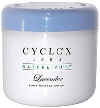 "Parfumuri și produse cosmetice Крем для массажа ""Лаванда"" - Cyclax Nature Pure Lavender Massage Cream"