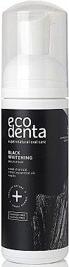 Spumă de clătire pentru cavitatea bucală - Ecodenta Black Whitening Mouthfoam