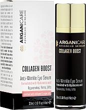 Parfumuri și produse cosmetice Ser antirid pentru zona ochilor - Arganicare Collagen Boost Anti Wrinkle Eye Serum