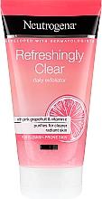 Parfumuri și produse cosmetice Scrub cu grepfrut roz și vitamina C pentru față - Neutrogena Refreshingly Clear Daily Exfoliator