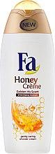 Cremă pentru duș - Fa Honey Golden Iris Scent Shower Cream — Imagine N3