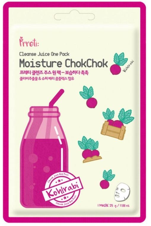 Mască de față - Prreti Cleanse Juice One Pack — Imagine N1