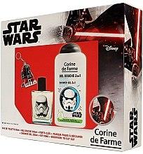 Parfumuri și produse cosmetice Corine de Farme Star Wars - Set (edt/50ml +sh/gel/250ml + accessories)