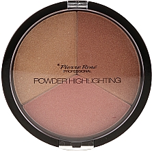 Parfumuri și produse cosmetice Paletă highlighter - Pierre Rene Highlighting Powder Palette