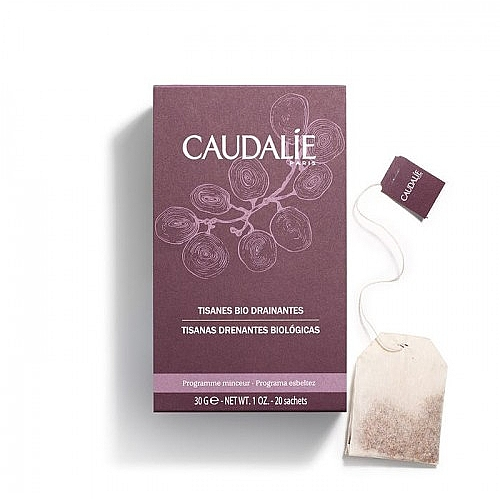 Draining organic tea - Caudalie Vinotherapie Draining Organic Herbal Teas
