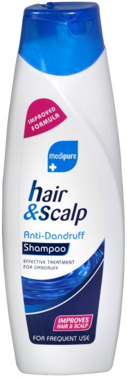 Șampon împotriva mătreții - Xpel Marketing Ltd Medipure Hair & Scalp Anti-Dandruff Shampoo — Imagine N1