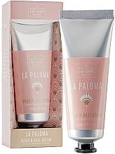 Parfumuri și produse cosmetice Cremă pentru mâini și unghii - Scottish Fine Soap La Paloma Hand & Nail Cream