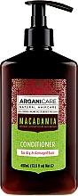 Parfumuri și produse cosmetice Balsam cu ulei de macadamia pentru păr - Arganicare Macadamia Conditioner