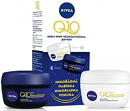 Parfumuri și produse cosmetice Set - Nivea Q10 Plus Day And Night Care (cr/50ml + cr/50ml)