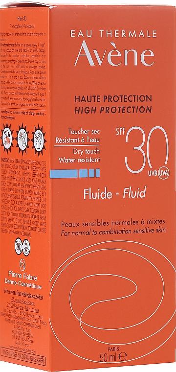 Fluid cu protecție solară - Avene Sun Care Fluid SPF 30