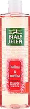 Parfumuri și produse cosmetice Șampon de păr - Bialy Jelen Fruit and Herb Shampoo Kalina & Melissa