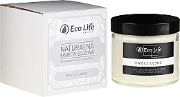 """Parfumuri și produse cosmetice Lumânare aromată """"Fructe de pădure"""" - Eco Life Candles"""