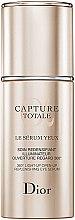 Parfumuri și produse cosmetice Ser pentru ochi cu efect de fermitate - Christian Dior Capture Totale 360 Light-Up Open-Up Replenishing Eye Serum