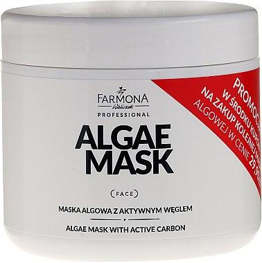 Mască cu de alge și cărbune activ pentru față - Farmona Professional Algae Mask With Active Carbon