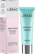 Parfumuri și produse cosmetice Mască-Scrub pentru față - Lierac Sebologie Deep Cleansing Scrub Mask