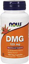 """Parfumuri și produse cosmetice Aminoacid """"Dimetilglicină"""", 125 mg - Now Foods DMG"""