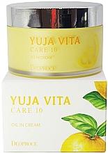 Parfumuri și produse cosmetice Cremă de întinerire din citrice pentru față - Deoproce Yuja Vita Care 10 Oil in Cream