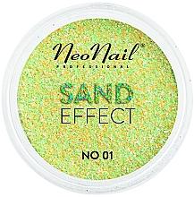 """Parfumuri și produse cosmetice Sclipici pentru unghii """"Efect de nisip"""" - NeoNail Professional Sand Effect"""