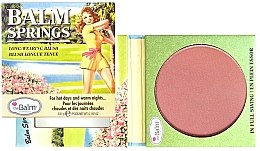 Parfumuri și produse cosmetice Pudră de obraz-bronzer - TheBalm Balm Springs Long-Wearing Blush