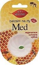 "Parfumuri și produse cosmetice Balsam de buze ""Miere"" - Bione Cosmetics Honey Vitamin E Lip Balm"