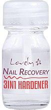 Parfumuri și produse cosmetice Întăritor 3 în 1 pentru unghii - Lovely Nail Recovery 3 in 1 Hardener