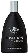 Parfumuri și produse cosmetice Instituto Espanol Poseidon The Black For Men - Apă de toaletă