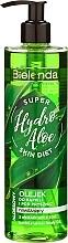 """Parfumuri și produse cosmetice Gel hidratant de duș """"Aloe"""" - Bielenda Super Skin Diet Hydro Aloe"""