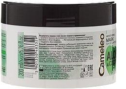 """Mască hidratantă pentru păr """"Aloe și cocos"""" - Delia Cosmetics Cameleo Aloe & Coconut Mask — Imagine N2"""