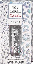 Parfumuri și produse cosmetice Naomi Campbell Cat Deluxe Silver - Apă de toaletă (mini)
