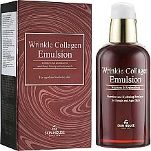 Parfumuri și produse cosmetice Emulsie nutritivă anti-îmbătrânire cu colagen - The Skin House Wrinkle Collagen Emulsion