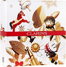 Parfumuri și produse cosmetice Set - Clarins (bath/foam/200ml + balm/200ml + candle/50g)